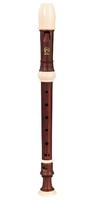 Angel AWR-SW(G) Wood Grain Блокфлейта сопрано, немецкая система, коричневая, 3 части