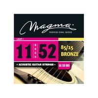 Magma GA130B85 струны для акустической гитары .011-.052
