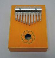 Мозеръ KMKr-1-YW Piastra Калимба, резонаторная, 10 язычков, прямоугольная, желтая