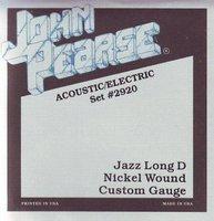 John Pearse 2920 Jazz Long D (13-56) Струны для электрогитары