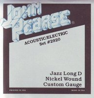 John Pearse 2920 Jazz Long D (13-56) Струны для электрогитары