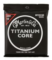 Martin MTCN160 Titanium Струны для акустической гитары