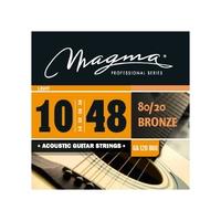 Magma GA120B80 струны для акустической гитары .010-.048