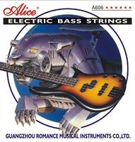 Alice A606(4)-L Комплект струн для 4-струнной бас-гитары.