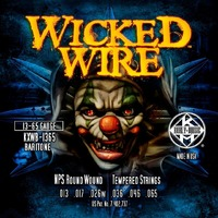 KERLY KXWB-1365 Baritone Wicked Wire Nickel Plated Steel Tempered струны для электрогитары (баритон), никелированная обмотка