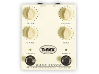 T-REX Bass Juice Педаль эффектов Distortion для бас гитары (Level, Gain, Tone, кнопка Boost)