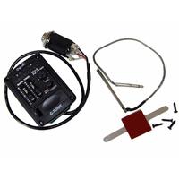 Cherub GU-3 Эквалайзер для укулеле, врезной, двухполосный, с тюнером