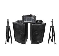 Soundking ZH0602D12LS Комплект акустической системы, микшер, микрофон, кабели, 2х200Вт