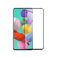 FUMIKO Защитное стекло для Samsung Galaxy A51 3D черное пакет