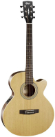 Cort SFX-ME W_BAG OP электроакустическая гитара c чехлом