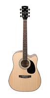 Cort AD880CE-NS-bag Standard Series Электро-акустическая гитара, цвет натуральный, с чехлом