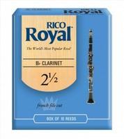"Rico Трости для кларнета in B ""RICO ROYAL"" №2,5 RCB1025"
