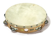 "Sonor Global CG T 10N Тамбурин 10"", кожа, 9 пар бубенцов"