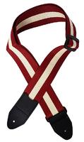 BaggZ G-strap-3R Ремень гитарный, цвет красный