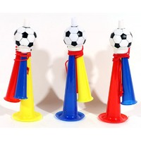 Дудка болельщика с футбольным мячом (Пр-во КНР) материал - пластик, длина 13,5 см