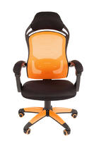 Chairman game 12 Игровое кресло, чёрное/оранжевое