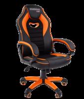 Chairman game 16 чёрный/оранжевый Игровое кресло