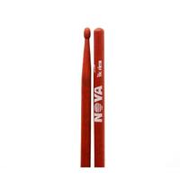 """VIC FIRTH NRockR- барабанные палочки ROCK с деревянным наконечником, цвет - красный, материал - орех, длина 16 5/8"""", диаметр 0,630"""", серия NOVA"""