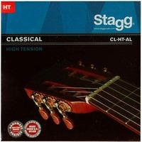 STAGG CL-HT-AL Струны для классической гитары. Жесткие, посеребреная навивка