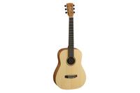Cort EARTH-MINI-OP Earth Series Акустическая гитара 3/4, цвет натуральный, с чехлом