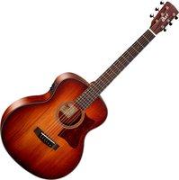 Cort Little-CJ-Blackwood-OPLB CJ Series Электро-акустическая гитара 3/4 с чехлом, санберст