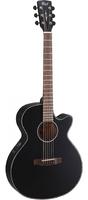 Cort SFX-E-BKS SFX Series Электро-акустическая гитара, с вырезом, черная
