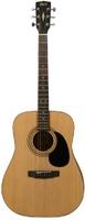 Cort AD810E-OP Standard Series Электро-акустическая гитара, цвет натуральный