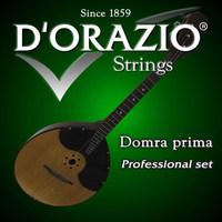 D'ORAZIO DPP Струны для домры прима (Пр-во Италия) 3 струны (029pl-038pl-56w)