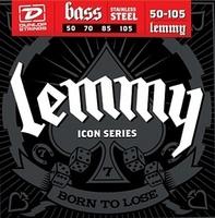 Dunlop LKS50105 Lemmy Signature Комплект струн для бас-гитары, нерж.сталь, 50-105