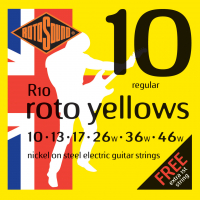 ROTOSOUND R10 STRINGS NICKEL REGULAR (A026691)