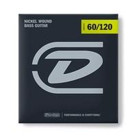 Dunlop DBN60120 Комплект струн для бас-гитары, никелированные, Extra Heavy Drop, 60-120