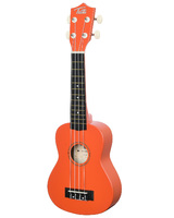 "TUTTI  JR-110 OGR ( 21"" ) Укулеле сопрано (гавайская гитара) цвет - ОРАНЖЕВЫЙ"