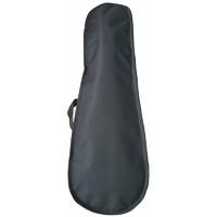 FLIGHT FBU-8000 BK - Чехол для укулеле, тонкий, черный, 1 ремень