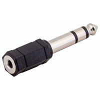 STANDS & CABLES ADA059 - переходник стерео мини-джек мама 3,5 мм -> джек стерео папа 6.3 мм