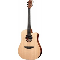 LAG GLA T70DC - акустическая гитара с вырезом Дредноут