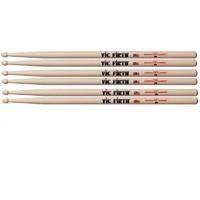 VIC FIRTH P2B.3-2B.1 Барабанные палочки, материал орех, деревянные наконечники (4 пары по цене 3х)