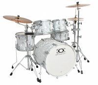 DRUMCRAFT SERIES 7 PROGRESSIVE MAPLE LIGUID CHROME/SATIN CHROME HW