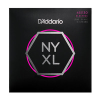 D'ADDARIO NYXL45130SL Набор 5 струн для бас-гитары, Super Long Scale, Regular Light, 045-130