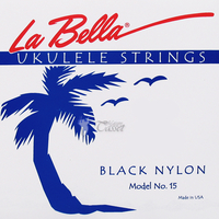 La Bella 15-BLACK Комплект струн для укулеле