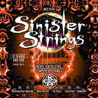 KERLY KQXS-1046 Sinister Nickel Plated Steel NPS Tempered струны для электрогитары