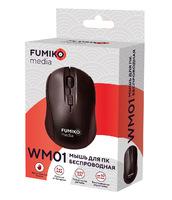 FUMIKO WM01 Мышь беспроводная черная