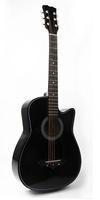 Foix FFG-1038BK Акустическая гитара, черная, с вырезом