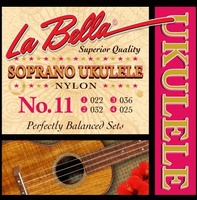 La Bella 11-SOPRANO Комплект струн для укулеле сопрано, нейлон