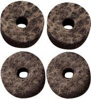 DRUMCRAFT войлочные прокладки для тарелок универсальные,  диаметр 4 см, толщина 1,5 см