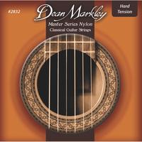 Dean Markley DM2832 Master Комплект струн для классической гитары, сильное натяжение, посеребренные