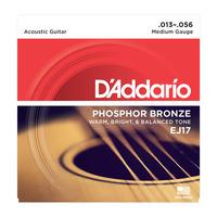 D'ADDARIO EJ17 струны для акустической гитары 13-56