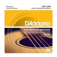 D'Addario EJ19 струны для акустической гитары