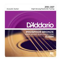 D'ADDARIO EJ38H Струны для акустической гитары 12 струн
