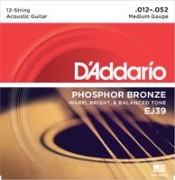 D'Addario EJ39 Набор 12 струн для акустической гитары