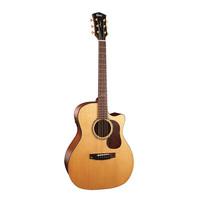 Cort Gold-A6-NS Gold Series Электро-акустическая гитара, с вырезом, цвет натуральный